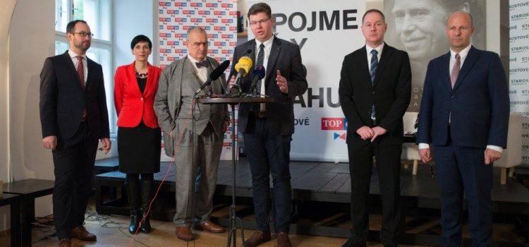 Kandidátem na pražského primátora bude za TOP 09 a STAN exministr Jiří Pospíšil