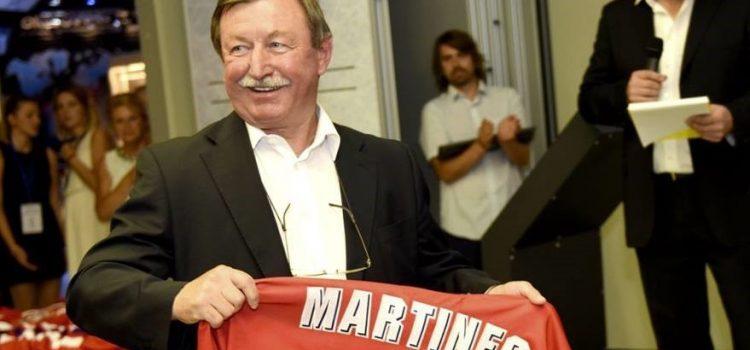 Hokejová legenda Vladimír Martinec kandiduje do Senátu na Chrudimsku