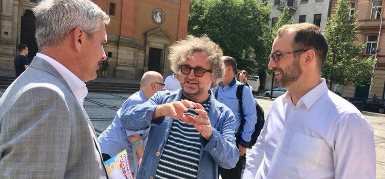 Režisér Jan Hřebejk bude kandidovat na radnici Prahy 5 za Starosty a nezávislé