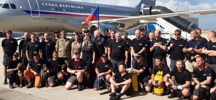 Česko vypravilo do libanonského Bejrútu dvě letadla s humanitární pomocí