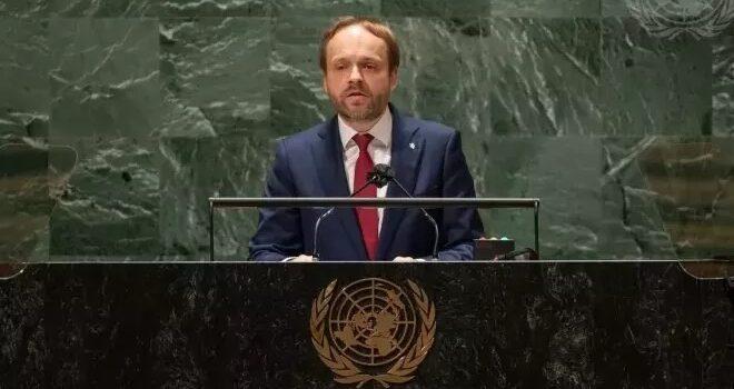 Ministr Kulhánek vystoupil na Valném shromáždění OSN, mluvil o klimatu i terorismu